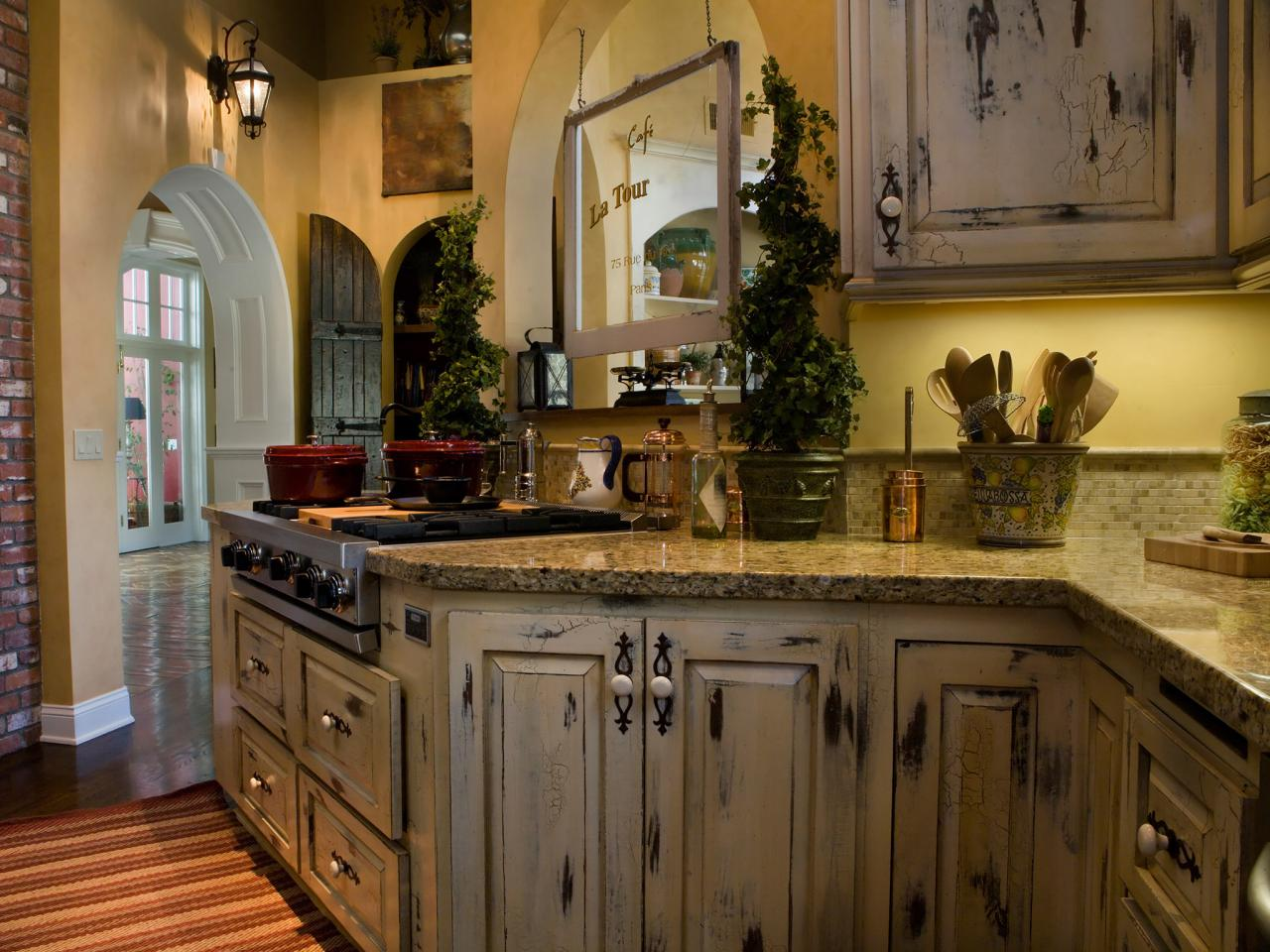 Distressed Kitchen Cabinets Pictures Amp Ideas From HGTV HGTV