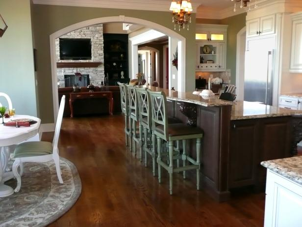 Kitchen Islands With Stools Pictures  Ideas From HGTV  HGTV