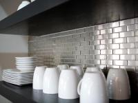 Stainless Steel Backsplashes: Pictures & Ideas From HGTV ...