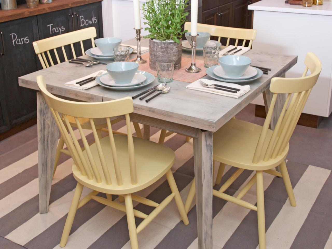 Painting Kitchen Tables: Pictures, Ideas & Tips From HGTV