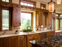 Large Kitchen Window Treatments: HGTV Pictures & Ideas