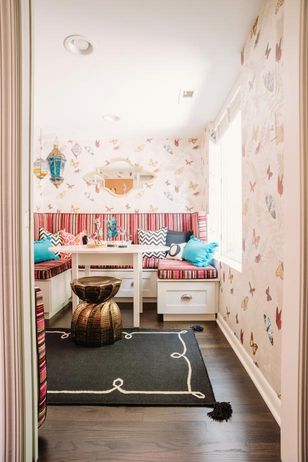 Imaginative Eclectic Girl S Playroom 2014 Hgtv