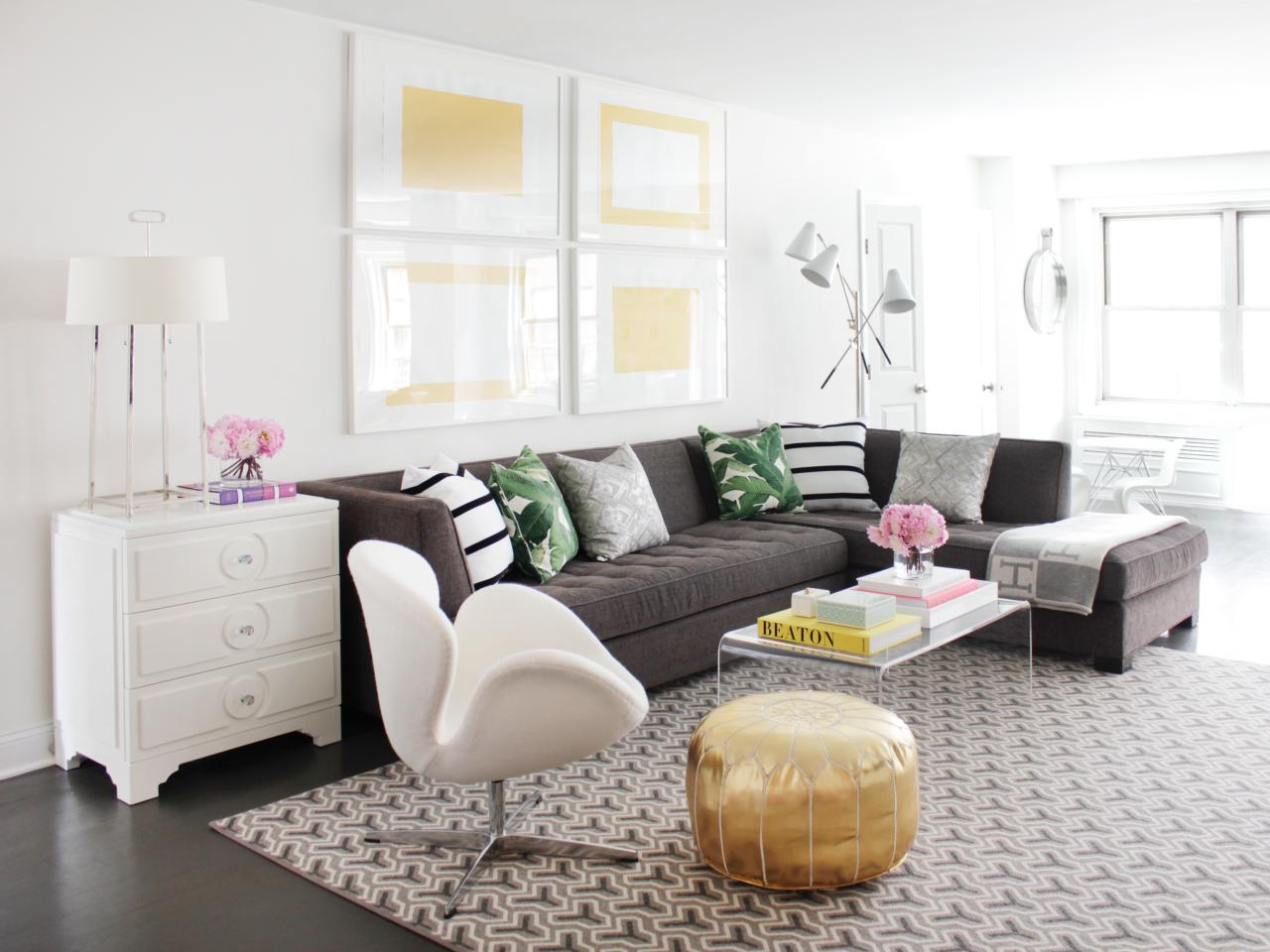 living room sectional ideas single chairs 12 for a grey hgtv s decorating design blog