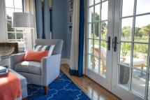 Inviting Entryway French Doors Flood Guest Bedroom