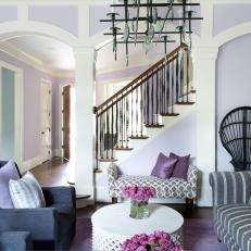 lavender living room ideas sample paint colors purple great photos hgtv staircase in spacious