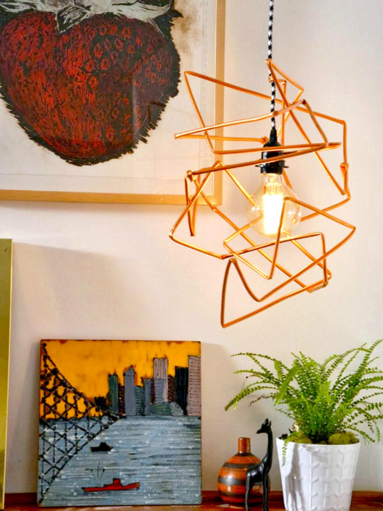 Brighten Up With These DIY Home Lighting Ideas  HGTVs