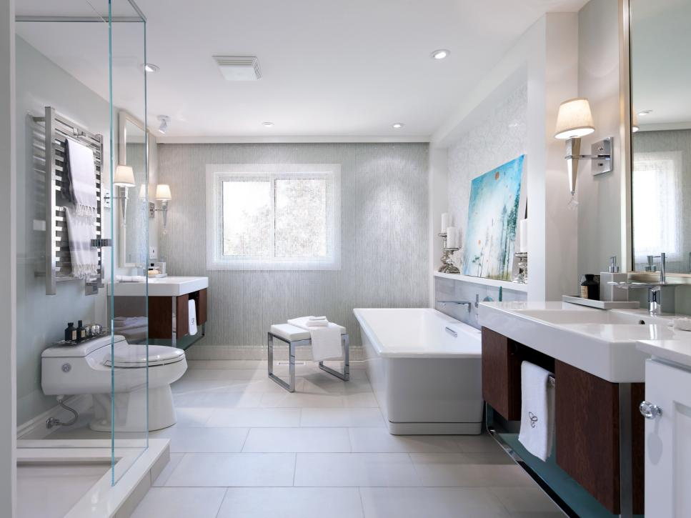 20 luxurious bathroom makeovers from our stars | hgtv