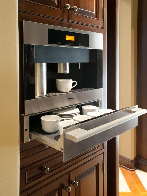 Stainless Steel Coffee Station  HGTV