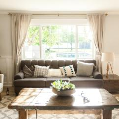 Living Room Window Small Side Tables For Find Out What A Picture Is And How To Decorate It Diy Cozy With Gray Sofa Large