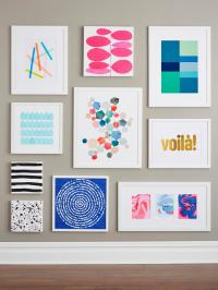 9 Easy DIY Wall Art Ideas