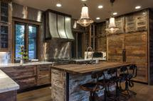 Rustic Great Room Kitchen Ideas