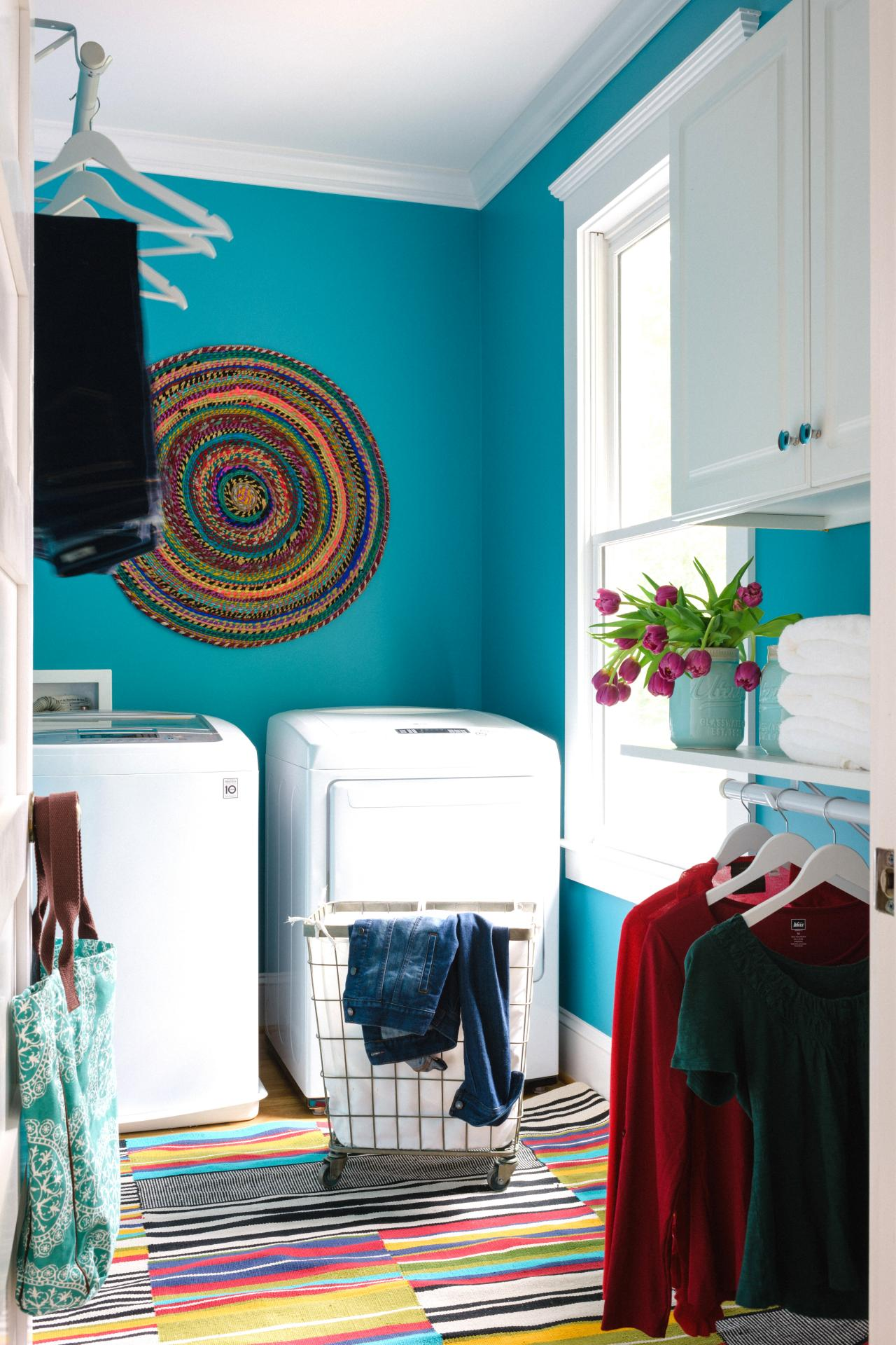 10 Easy Budget Friendly Laundry Room Updates HGTVs