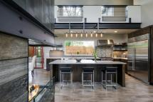 Modern Industrial Chef-style Kitchen With Professional