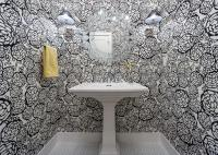 15 Beautiful Reasons to Wallpaper Your Bathroom