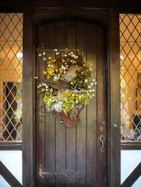 Rustic, Farm and Garden-style Front Door Decor | HGTV