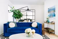 Cool Down Your Design With Blue Velvet Furniture | HGTV's ...