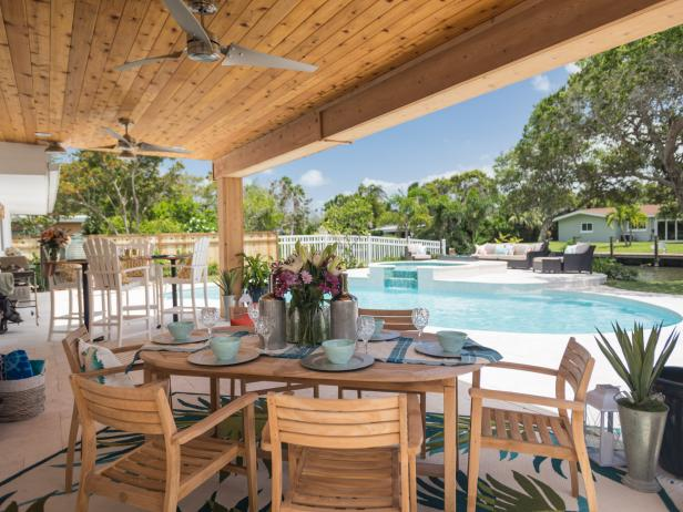 A Cocoa Beach Backyard Oasis  Beachfront Bargain Hunt Renovation  HGTV