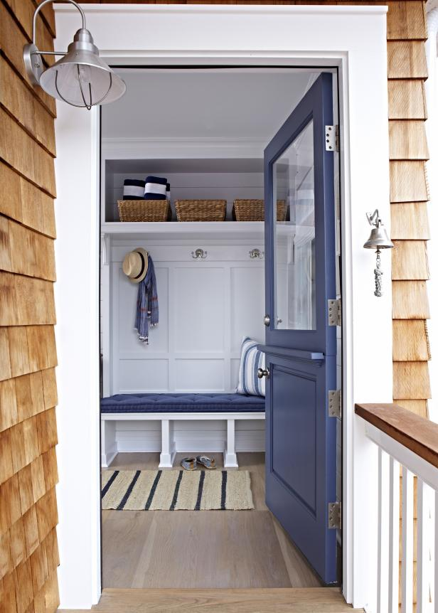 Entry to Coastal Mudroom