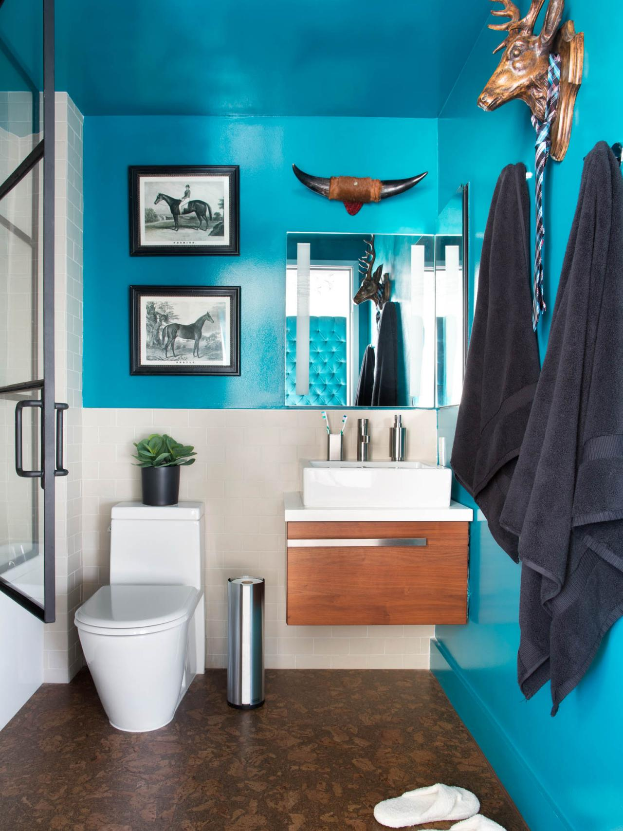 10 Paint Color Ideas for Small Bathrooms  DIY Network