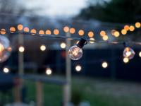 How to Hang Outdoor String Lights From DIY Posts | HGTV