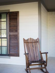 Fixer Upper Front Porch Rocking Chairs