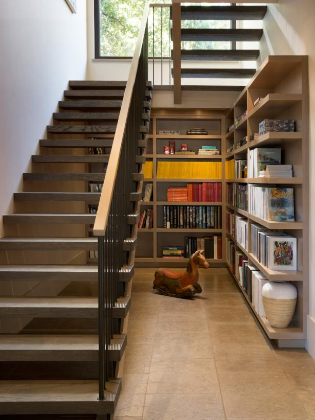 12 Creative Ways to Use the Space Under Your Stairs  Room