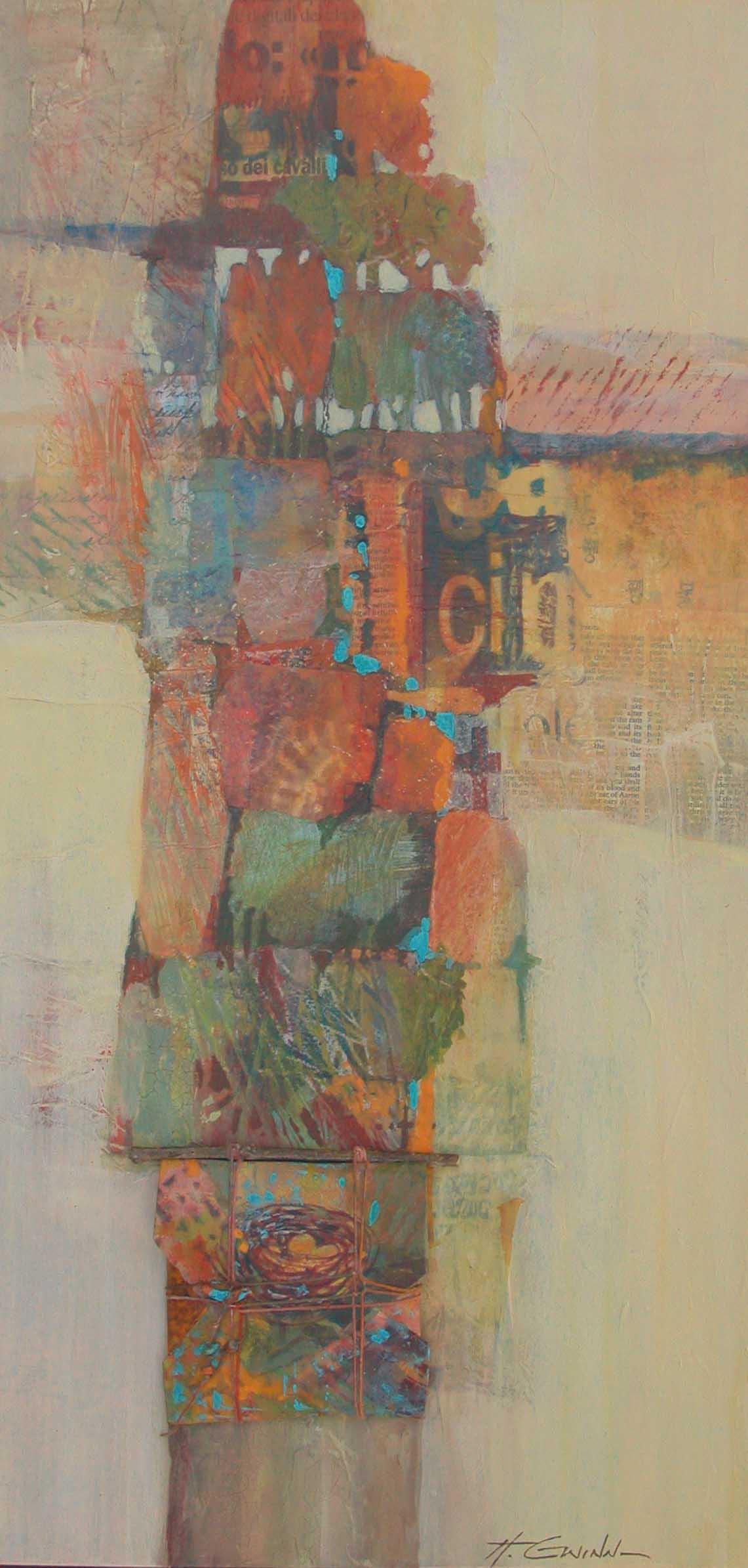 Collage  Helen Gwinn New Mexico Artist