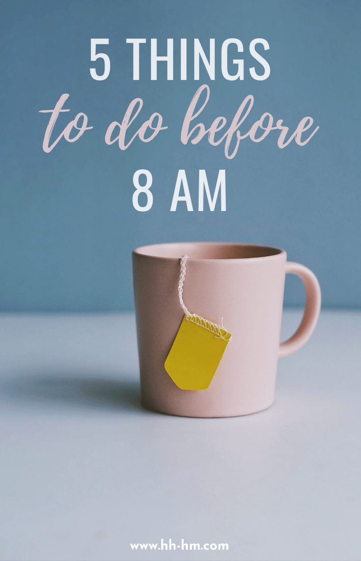 5 healthy morning habits to start! These are 5 things you can do in the morning, before 9 am to improve your days and your life tremendously!
