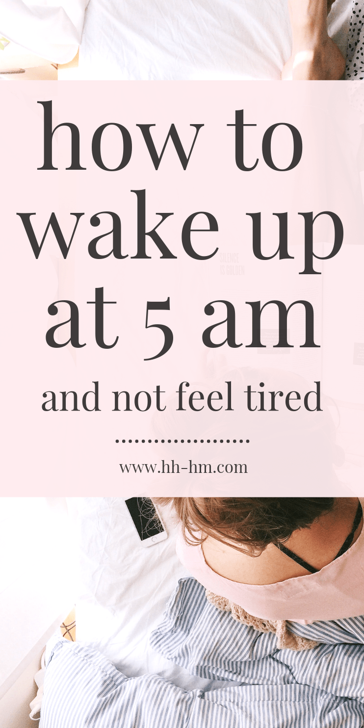 How to wake up early - morning routine and tips! I started waking up at 5 am 3 months ago and it is already changing my life! From keeping a regular workout schedule, growing my blog traffic, increasing productivity and reducing stress - this simple morning habit has impacted everything.