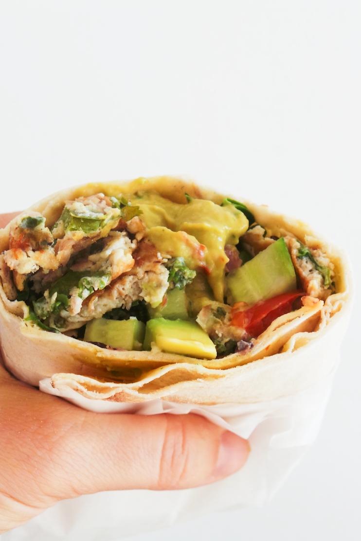 Tuna Breakfast Wrap Recipe - Beauty Bites