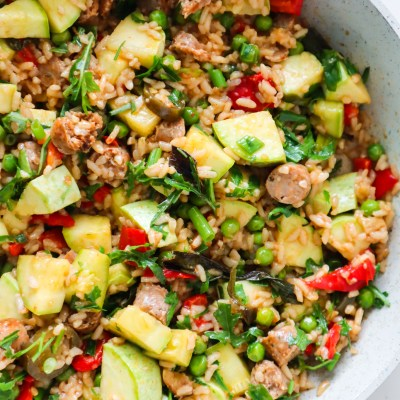 Healthy Rice and Sausage Recipe