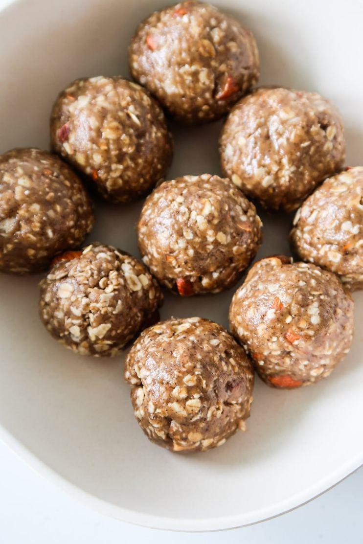 healthy granola balls meal prep