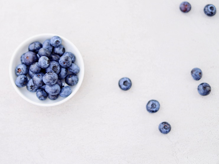 blueberries for healthy breakfast meal prep