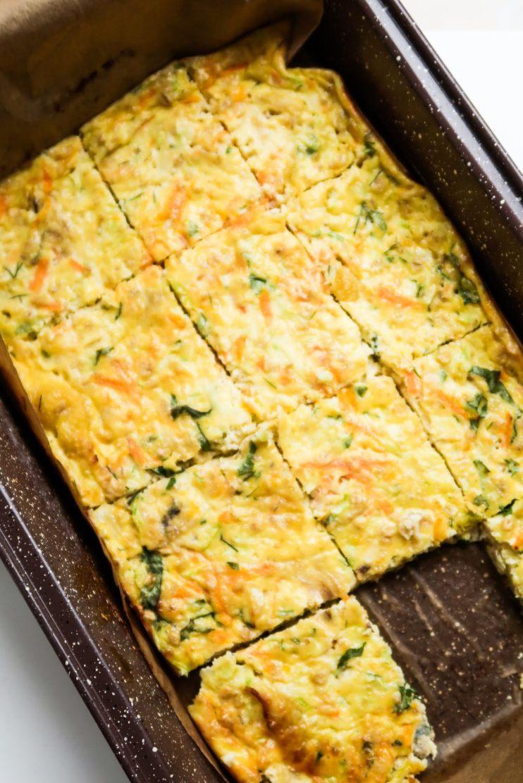 breakfast egg bake meal prep