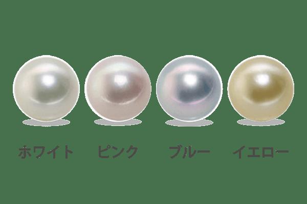 真珠のチェックポイント-色