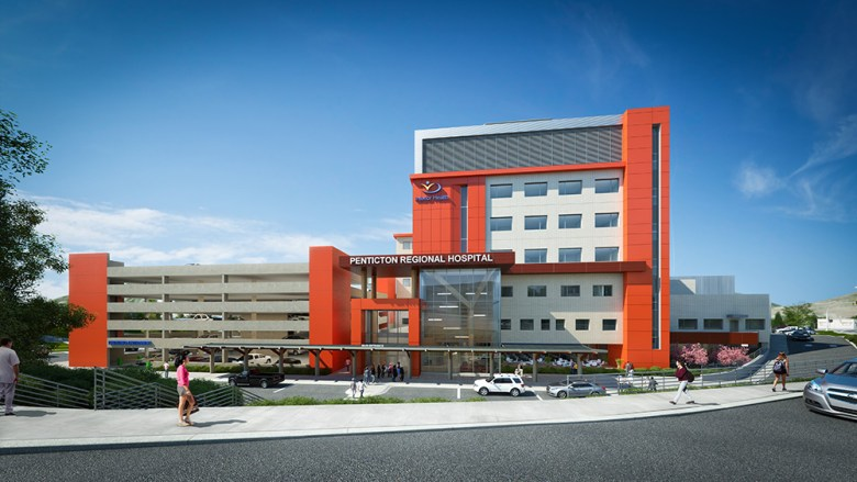 Penticton Regional Hospital - CREDIT MARK YOO