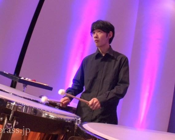 崎川賢佑(パーカッション・北海道札幌開成高等学校卒)