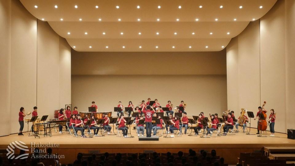 「第68回函館地区吹奏楽祭」参加