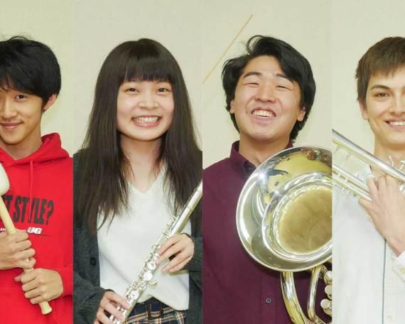 三役・学生指揮者の挨拶(2018年度)