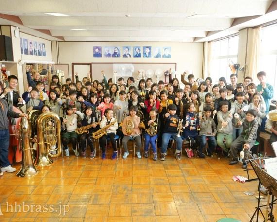 高丘小にて音楽教室を開催