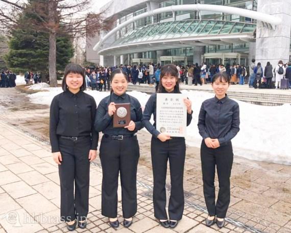 2018年度アンコン全日本で3年連続・銀(Cl4)