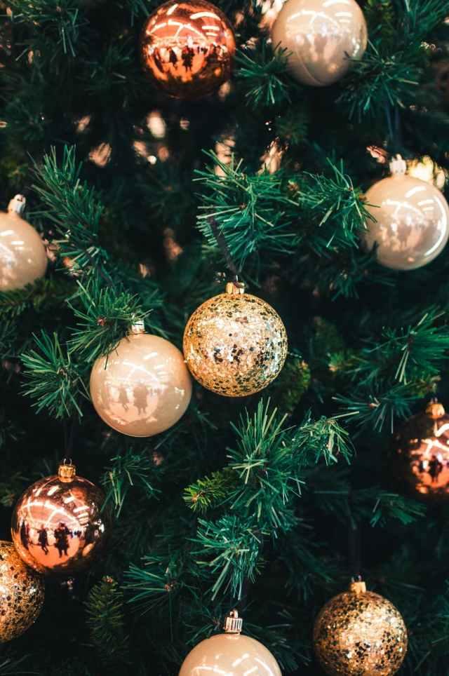 photo of christmas balls