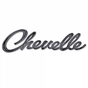 Chevelle Hood Emblems- H&H Classic Parts