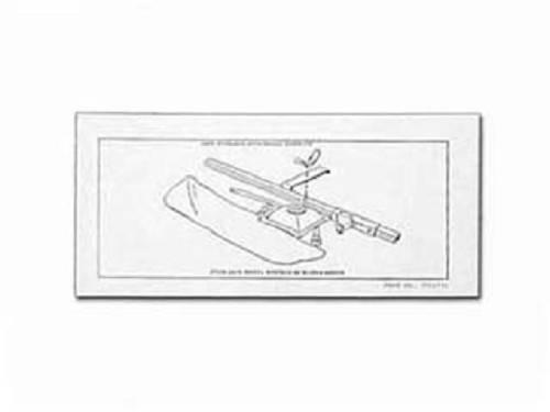 Continental Kit Jack Storage Instructions