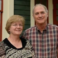 Cynthia and Randy Stacey Founders for healthcare at Helping Hands Clinic