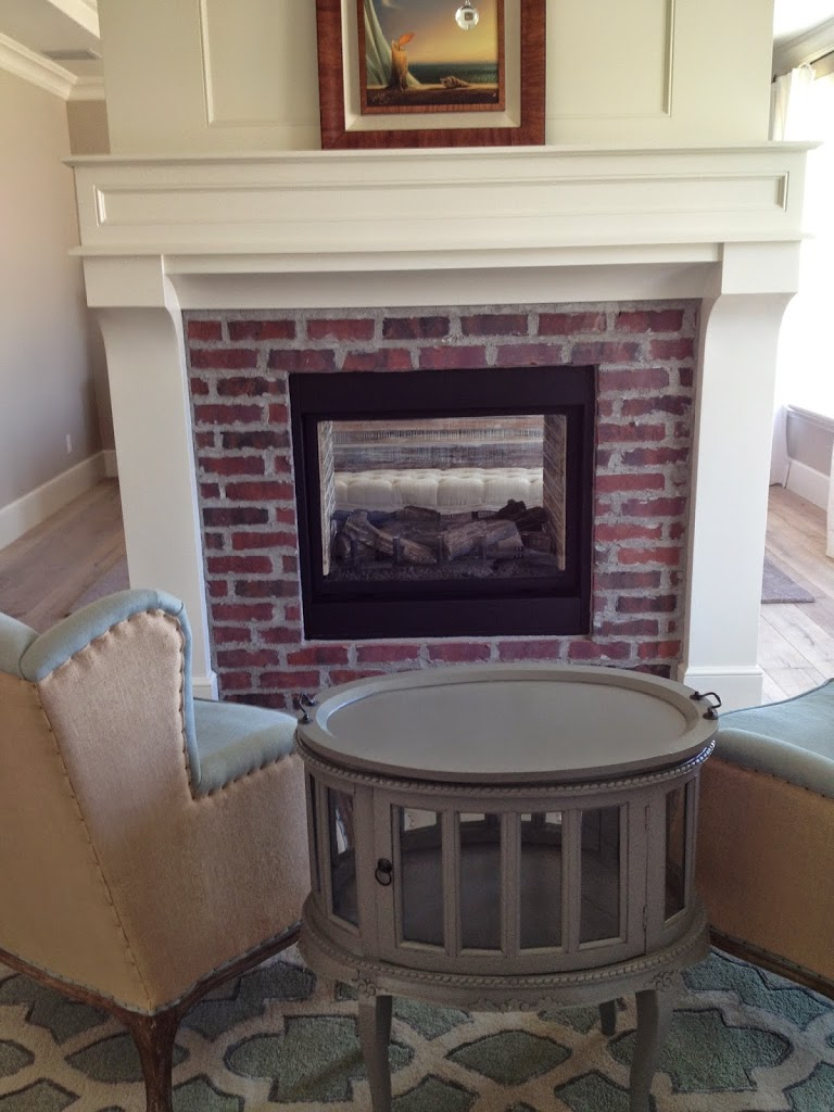 White Painted Fireplace Brick Brick Fireplaces With White Surround Mantels - Hearth And