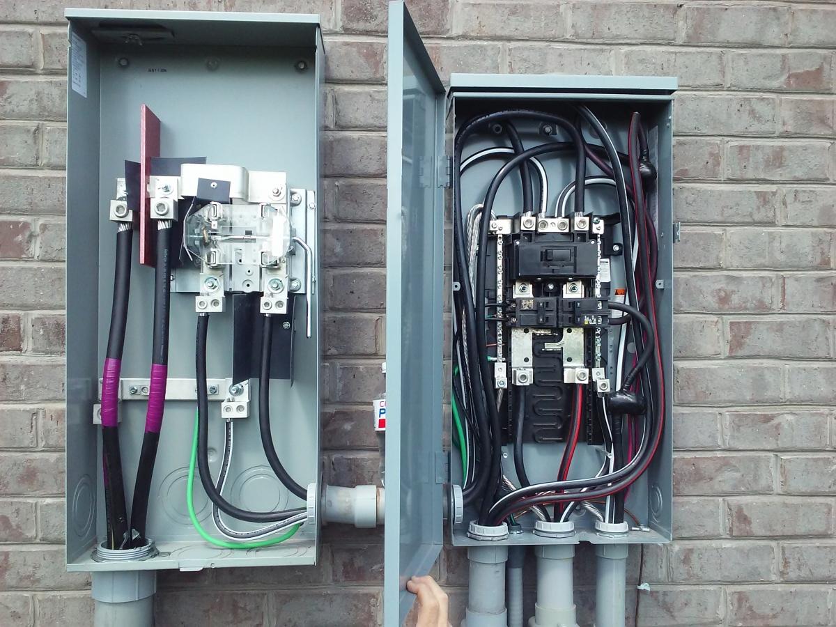 Amp Panel Meter Wiring Diagram on 60 amp sub panel diagram, 200 amp qo main breaker, 200 amp breaker box diagram, 200 amp breaker box setup, 200 amp riser diagram, 400 amp service diagram, 200 amp service, feed-thru panel electrical diagram, 200 amp plug, feed through panel diagram, 200 amp sub panel wiring, 200 amp residential breaker panel, electrical panel box diagram, service panel diagram, bonding screw square d 100 amp panel with diagram, 200 amp pedestal with meter and breaker box, generator sub panel grounding diagram, service disconnect main diagram,