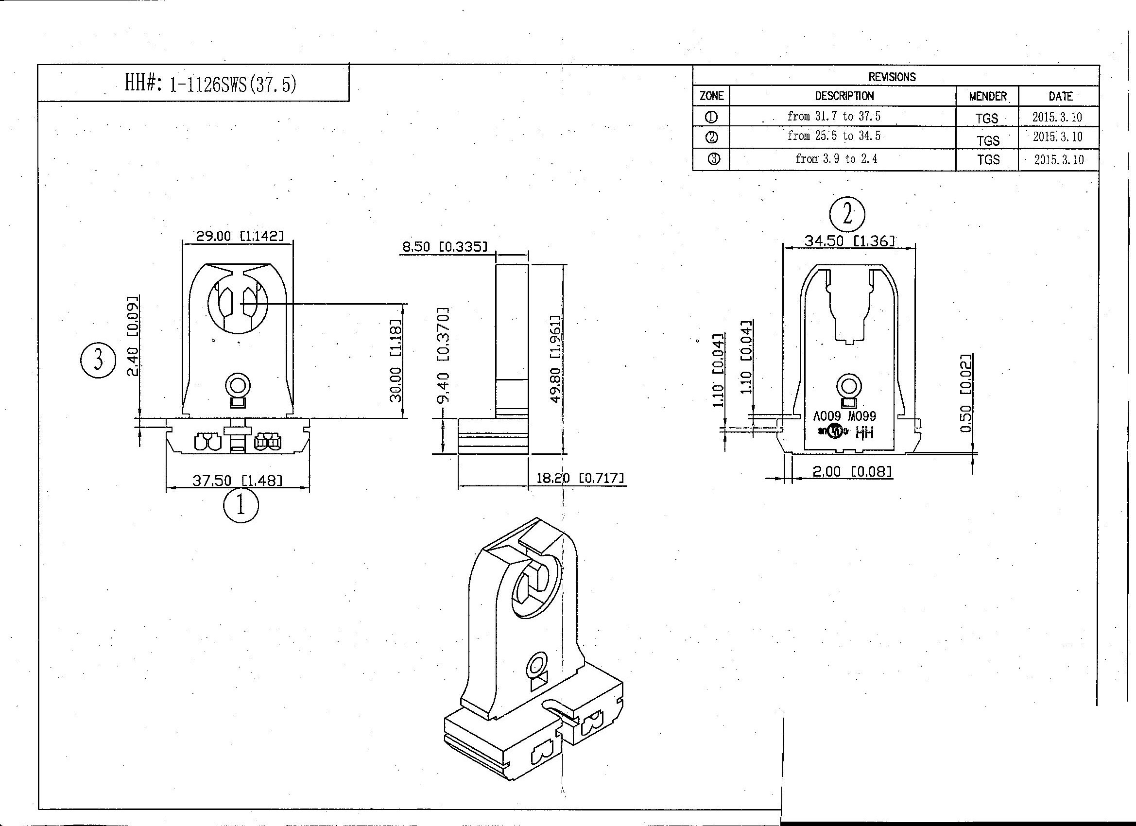 Mbp 37 5mm Base Shunted
