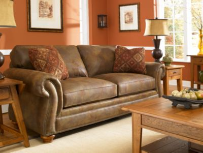 laramie sofa reviews italsofa brown leather chair broyhill suede ...