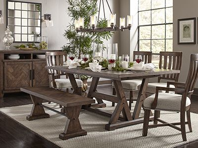 broyhill living room chairs how to design a small layout dining kitchen table sets furniture tables